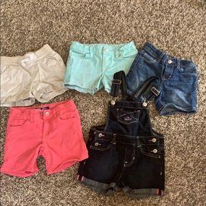 4t summer short bundle 5 piece set